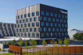 El centro corporativo de Banco Sabadell en Sant Cugat.