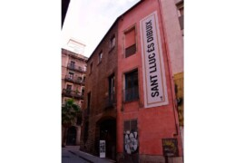 El Cercle Artístic Sant Lluc, en la calle Mercaders.
