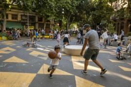 Barcelona quiere transformar el Eixample en una supermanzana
