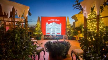 El Palace Christmas Cinema Rooftop