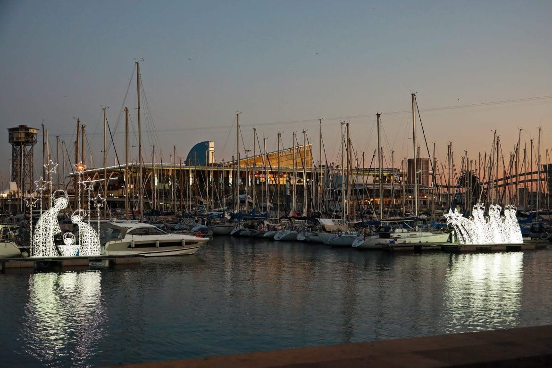 Il·luminació a l'aigua - Segona edició Nadal al Port