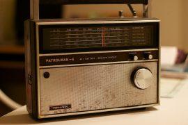 Transistor de ràdio antic