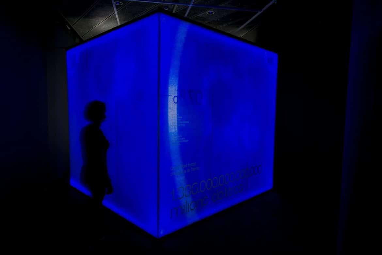 exposició l'Or Blau Palau Robert